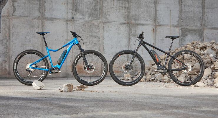 EM E-Hardtail-Duell Merida Ghost Video