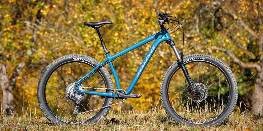 MB 0119 Trail Hardtail Test MS Salsa Timberjack Deore 27,5+ Bild 1