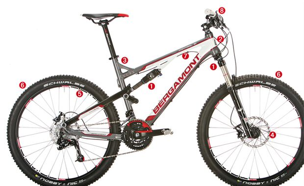 MB 0311 Tourenfullys - Perfektes Bike