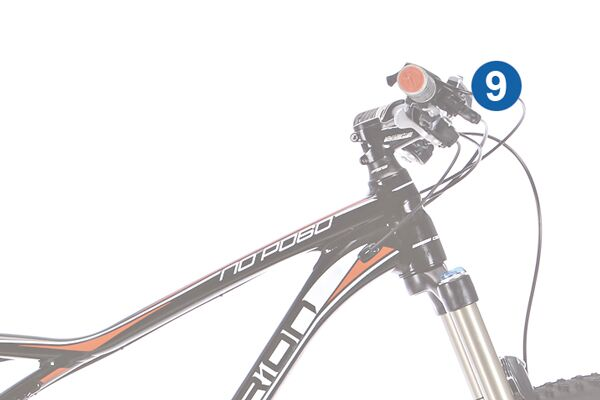 MB 0314 All-Mountains optimales Bike 9