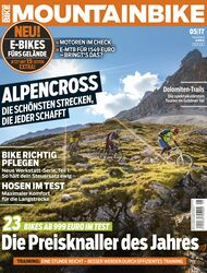 MB MOUNTAINBIKE 05/17 Heftcover