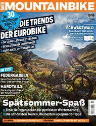 MB MOUNTAINBIKE Heftcover 10/16