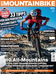 MB MountainBIKE 05/16 Heft-Cover