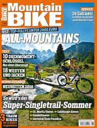 MB MountainBIKE 08/15 Heft-Cover