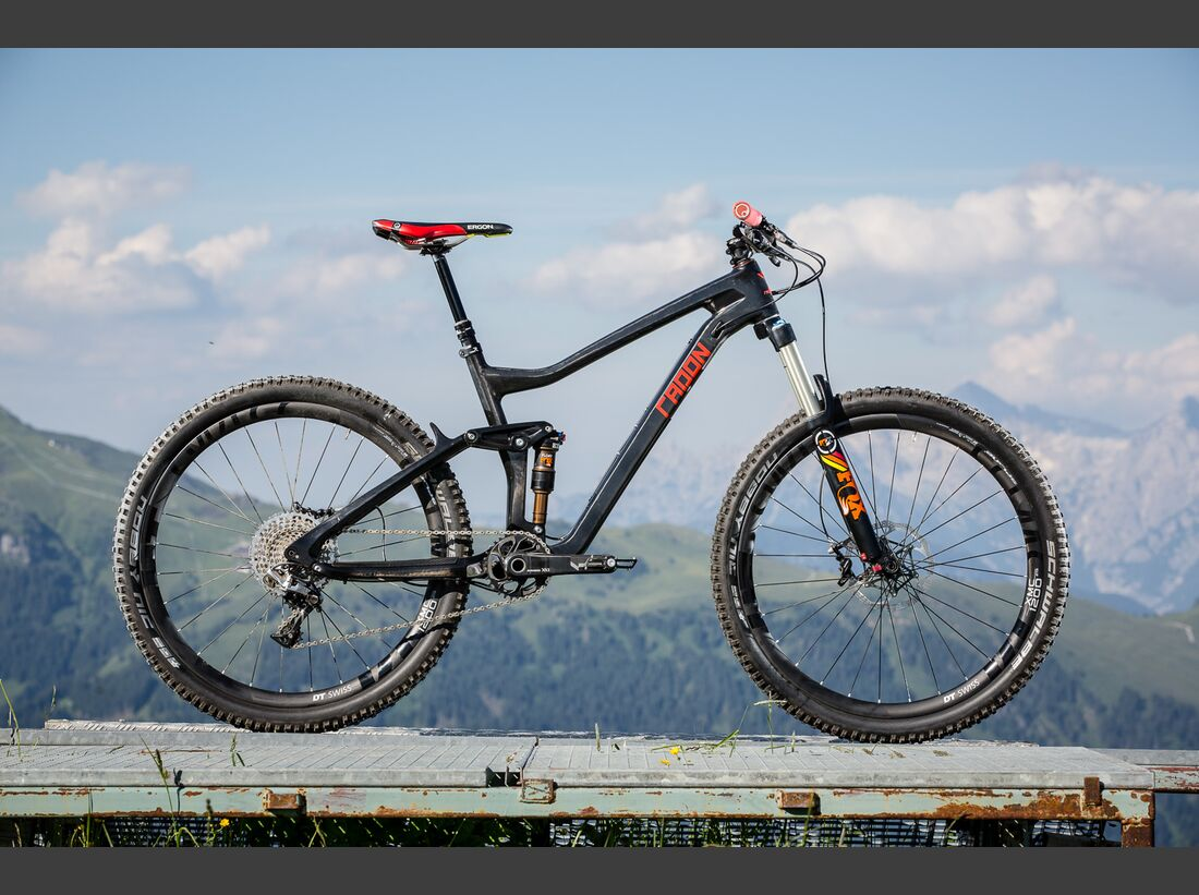 MB Radon Slide Carbon 140 All-Mountain Eurobike Media Days
