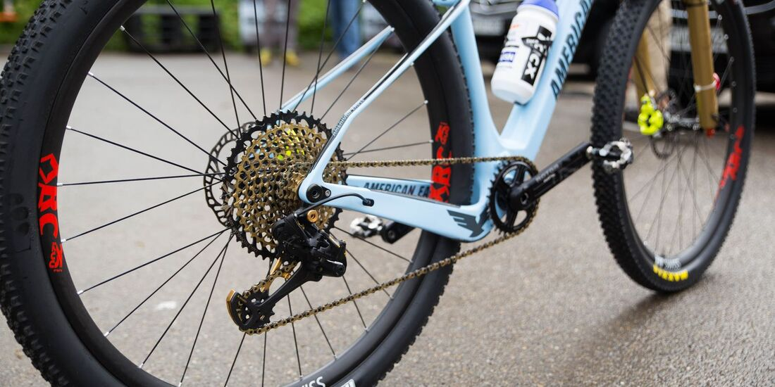MB WC Albstadt World Cup Bikes 2018 Belomoina Drivetrain